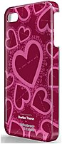 Symtek WUS-I4S-TCT03 Whatever It Takes Charlize Theron Designed Protective Case for iPhone 4, 4S - Wine