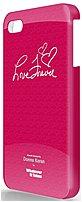 Symtek WUS-IP5-GDK03 Whatever It Takes Premium Gel Shell for iPhone 5 - Donna Karan Red