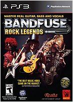 The Majesco 859292000812 OOO81 BandFuse  Rock Legends  Artist Pack  provides an authentic pick up and play experience for musicians of all skill levels