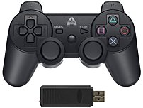 The Arsenal Gaming AP3CON8 Wireless Controller comes with an USB stick to plug into the PlayStation 3 console