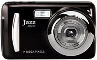The Jazz JDC77 14.0 Megapixels Mini Digital Camera gives you an easily portable way to take photos and videos of important people, places and events at a affordable price