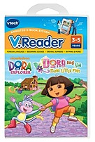 Vtech 80-280900 V.reader  - Dora The Explorer And The Three Little Pigs