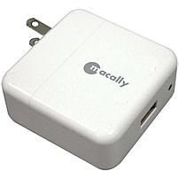 Macally USB AC Charger - 110 V AC, 220 V AC Input - 5 V DC Output