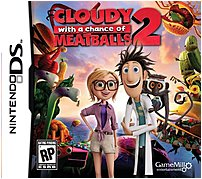 Game Mill 834656090098 Cloudy Chance Meatballs 2 - Nintendo DS