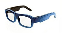 Xpand Cinema YOUniversal B104LX1 Bluetooth/Infra-red Rechargeable 3D Active Glasses - Blue B104LX1