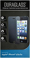 WriteRight 043859681327 Duraglass Premium Tempered Glass Protection for iPhone 5 5S 5C