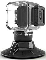 Polaroid POLC3WSM Suction Cup Mount for the Polaroid CUBE HD Action Camera with Waterproof Case