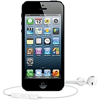 Apple iPhone 5 Smartphone - Wireless LAN - 4G - Bar - Slate, Black - Unlocked - 1 SIM Card Supported - iOS 6 - Apple1.20 GHz - 64 GB - 4' LCD 1136 x 640 - 326 ppi - Touchscreen - Multi-touch Screen -