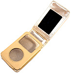 I-tec T1240bg Mirror Case For Ipod Classic 30 Gb / 60 Gb 5th Generation - Beige