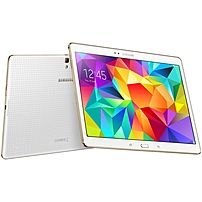 Samsung Galaxy Tab S SM-T800 16 GB Tablet - 10.5' - Wireless LAN - Samsung Exynos 5 1.90 GHz - Dazzling White - 3 GB RAM - Android 4.4 KitKat - Slate - 2560 x 1600 (LED Backlight) - Bluetooth - Quad-c