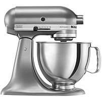 KitchenAid Artisan KSM150PSCU Stand Mixer - 325 W - Stainless Steel, Contour Silver