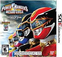 Namco 722674700467 70046 Power Rangers MegaForce - Nintendo 3DS