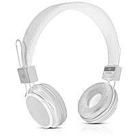 V7 Lightweight Stereo Headset - Stereo - White - Mini-phone - Wired - 2.2 Kilo Ohm - 20 Hz - 20 kHz - Over-the-head - Binaural - Circumaural - 4 ft Cable - Omni-directional Microphone
