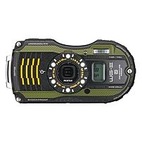Pentax WG-3 GPS 16 Megapixel Compact Camera - Green - 3' LCD - 16:9 - 4x Optical Zoom - 7.2x - Optical, Digital (IS) - 4608 x 3456 Image - 1920 x 1080 Video - HDMI - HD Movie Mode - GPS