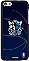 Coveroo 674 640 BK FBC Dallas Mavericks Basketball Thinshield Snap On Case for iPhone 5c