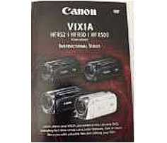Canon 660685125162 2591V911 Instructional DVD for Vixia Camcorders