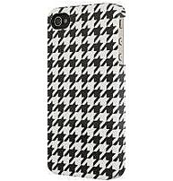Venom Communication 5031300075554 Smartphone Case for iPhone 4 Houndstooth Black White