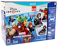 Disney Infinity 712725026509 2.0 Marvel Super Heros Special Value Pack For Wii U