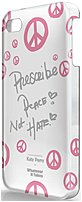 Symtek WUS-I4S-TKP03 Whatever It Takes Katy Perry Case for iPhone 4, 4S - White