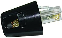 Softalk 01501 Twisstop Rotating Telephone Cord Detangler - Black
