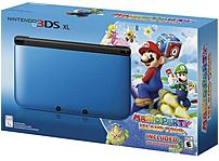 Nintendo SPRSBM21 3DS XL Video Game Console with Mario Party: Island Tour - Limited Edition
