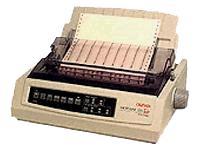 OKI Microline 320 Turbo Printer - 220V International - B/W - dot-matrix - 240 dpi x 216 dpi - 9 pin - up to 435 char/sec - Parallel, Serial, USB
