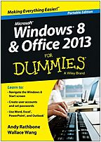 For Dummies 9781118669532 Windows 8 and Office 2013
