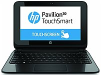Hp Pavilion Touchsmart F3f15ua 10-e010nr Notebook Pc - Amd A4-1200 1.0 Ghz Dual-core Processor - 2 Gb Ddr3l Sdram - 320 Gb Hard Drive - 10.1-inch Display - Windows 8.1 64-bit Edition - Black/silver