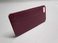 Venom Communications 5031300075806 Signature Case for iPhone 5 Herringbone Navy Blue Red