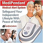 Medical Alarm Concepts MED01 Medipendant Monitoring System - 6 months