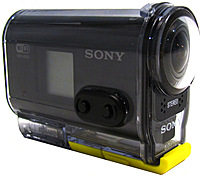 Sony HDR AS20 B 11.9 Megapixels Action Camcorder 1080p microSD SDHC SDXC Card f 2.8 Lens NTSC PAL Black