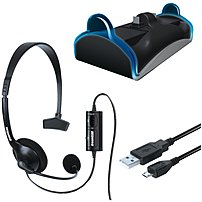Dreamgear DGPS4 6411 Playstation 4 Charge and Chat Bundle