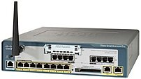 Cisco - 540w-fxo Unified Communications Wireless Router - 8 X 10/100base-tx Poe Lan, 1 X 10/100base-tx Wan, 1 X 10/100base-tx, 4 X Fxo - 1 X Vic - Ieee 802.11b/g - 54mbps Uc540w-fxo-k9