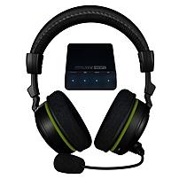 Turtle Beach Ear Force X42 Headset - Surround - Wireless - RF - 30 ft - 20 Hz - 20 kHz - Over-the-head - Binaural - Ear-cup - Condenser Microphone TBS-2270-01