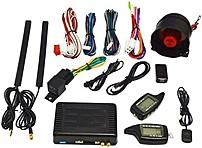 Premiertek Ca909a 2 Way Car Alarm System With Remote Keyless Entry