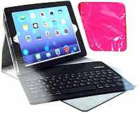 Merkury Innovations Mi-bkcp1-678 Folio Case For Ipad 2nd, 3rd & 4th Generation - Built-in Keyboard -  Pink