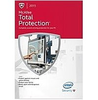 McAfee Security MTP15EBF1RAA Total Protection 2015 - 1 PC - 1 Year