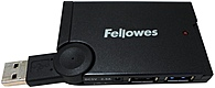 Fellowes USB Hub - 4 Port - Mini 077511985355 - 4 x 4-pin Type A USB 1.1 Female, 1 x USB Type A USB Male - External