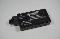 Transition Networks M/E-ISW-FX-01SC Mini 10/100 Bridging Media Converter
