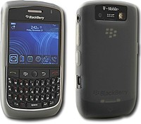 Black Box Blackberry 31099bbr Rubber Skin For 8900 Mobile Phones - Smoke Gray