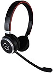 Jabra Evolve 65 UC Stereo - Stereo - USB - Wireless - Bluetooth/NFC - 98.4 ft - Over-the-head - Binaural - Supra-aural - Noise Cancelling, Noise Reduction Microphone