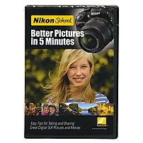 Nikon 018208119240 11924 Better Pictures in 5 Minutes DVD