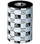 Zebra Wax Resin Ribbon 2.52 in x 242 ft 5555 Standard 0.5in core - Thermal Transfer - 2.52' x 242.78 ft Ribbon Size - 12 / Carton