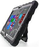 Gumdrop Hideaway Case for Dell Venue 11' Pro Atom - Tablet - Black - Rubber, Silicone, Polycarbonate
