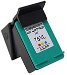 CB338WN-R Remanufactured HP 75XL Tri-color Ink Cart