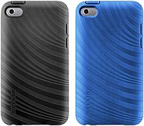 Belkin Essential 023 Ipod Case - Ipod - Black, Civic Blue - Textured Grooves - Thermoplastic Polyurethane (tpu), Silicone F8w012ebc00-2