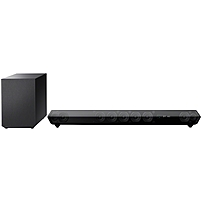 Sony HT-ST5 7.1 Sound Bar Speaker - 380 W RMS - Shelf Mountable, Stand Mountable, Wall Mountable - Wireless Speaker(s) - Dolby Digital, DTS, Dolby TrueHD, Dolby Digital Plus, S-Force PRO Front Surround, DTS 96/24, Dolby Dual Mono - Bluetooth - iPod Suppor HTST5
