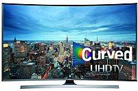 "Samsung 78"" Class (78"" Diag.) LED Curved 2160p Smart 3D 4K Ultra HDTV Silver UN78JU7500FXZA"