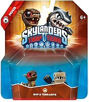Activision 047875870949 87094 Skylanders Trap Team: Bop And Terrabite Mini Character - 2 Pack