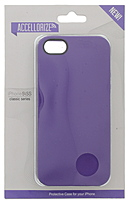 Accellorize Classic Series 890968161055 Case for Apple iPhone 5, 5S Smartphone - Purple